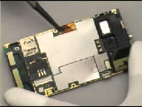 Disassembly Sony Ericsson M1i Aspen - M1a