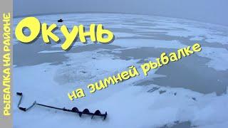 Зимняя ловля ОКУНЯ Рыбалка на оз Тростенское Московская область