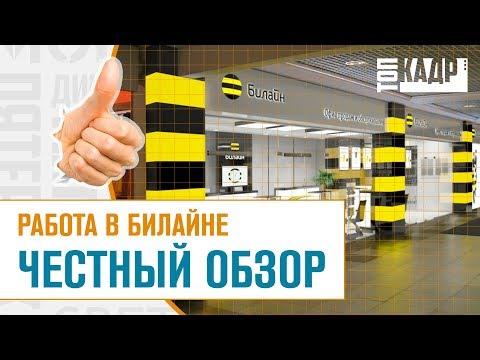 Работа в билайне ЧЕСТНЫЙ ОБЗОР   Топ Кадр
