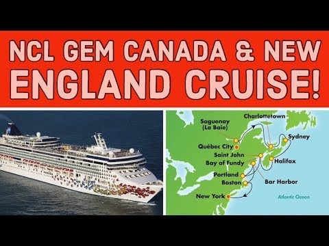 Canada And New England Cruise Info