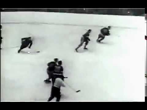 1950 Stanley Cup. Final. Detroit Red Wings vs NY Rangers. Game 6