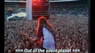 Iron Maiden - Out of the silent planet subtitulado (español-ingles)