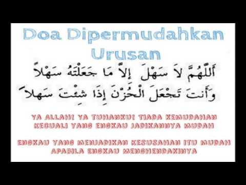 doa dipermudahkan urusan inshaallah