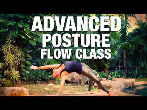 Advanced Posture Flow Yoga Class Five Parks Yoga
