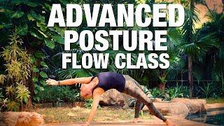 Advanced Posture Flow Yoga Class - Five Parks Yoga