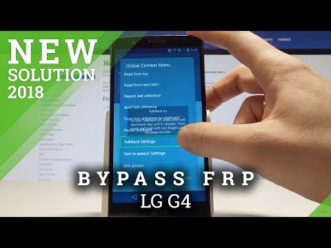 How to bypass Google Account protection in LG G4 Beat phone