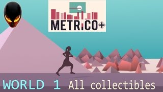 Metrico+ : World 1 - All collectibles