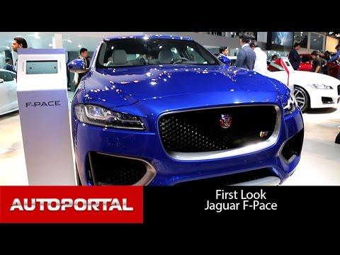 Jaguar F Pace Auto Expo 2016 - Autoportal
