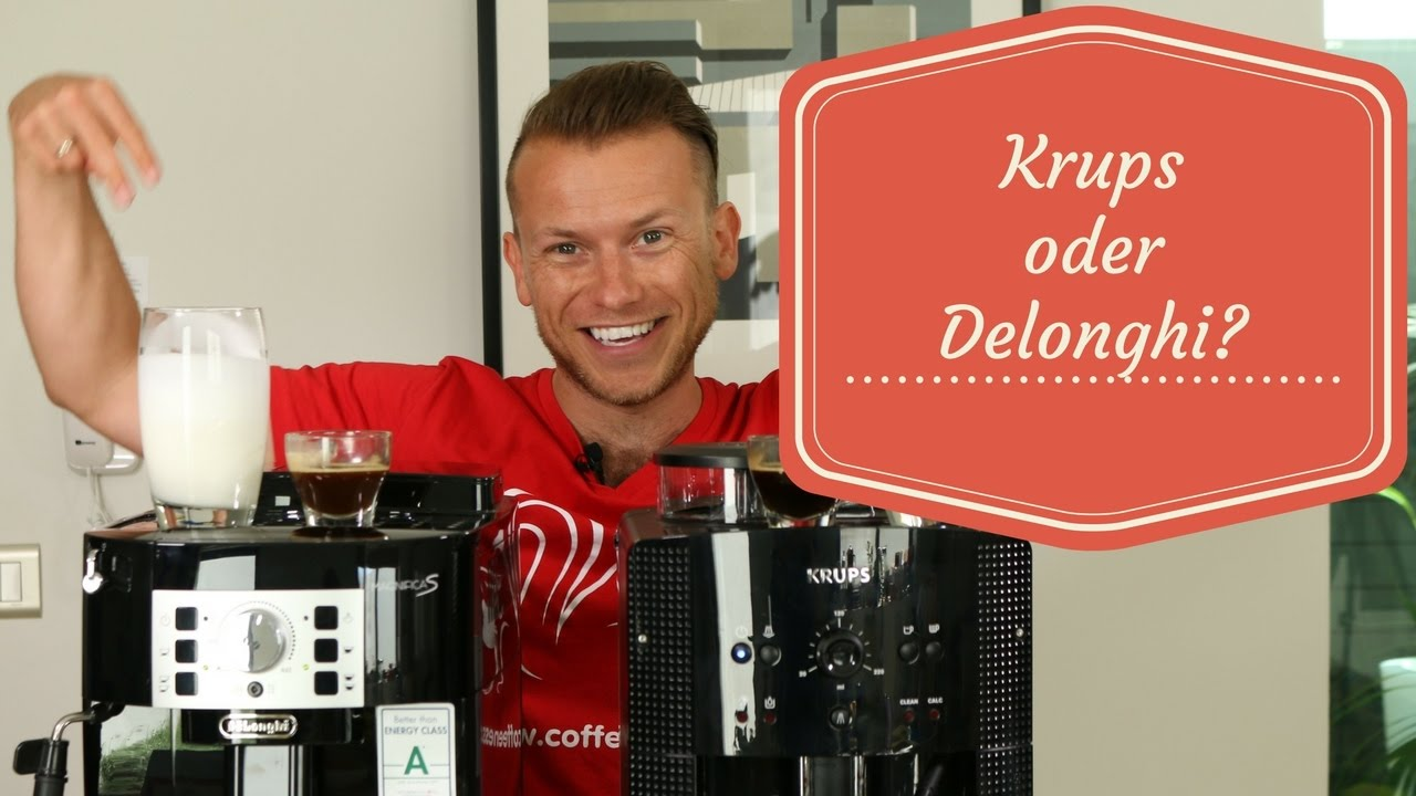 g nstige kaffeevollautomaten im test krups oder delonghi youtube. Black Bedroom Furniture Sets. Home Design Ideas