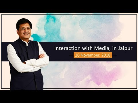 Interaction with Media, in Jaipur