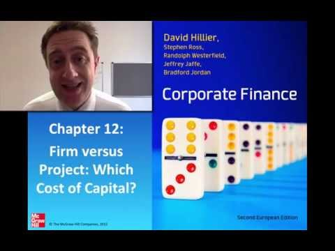 Firm vs Project Cost of Capital in Capital Budgeting