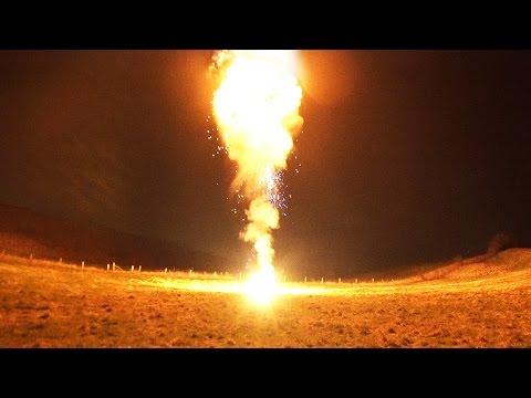 HUGE PETROL BOMB - 50FT FIRE BALL