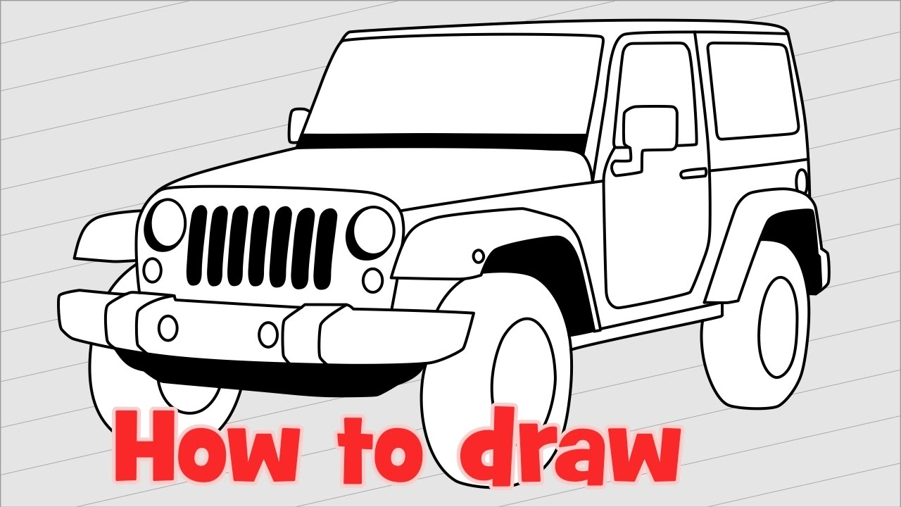 Jeep Pictures To Draw