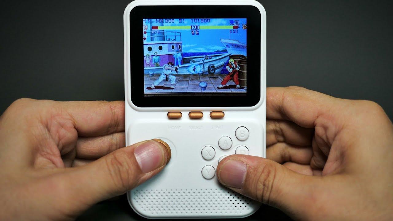 전세계 리뷰 0개인 18달러짜리 휴대용 게임기를 사봤습니다. I bought a $18 portable game console with 0 reviews worldwide.