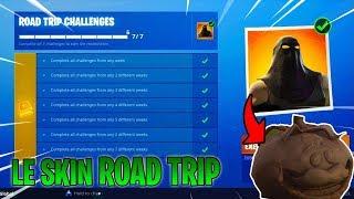 LE SKIN ROAD TRIP SUR FORTNITE - Infos + Screen sur le skin !!