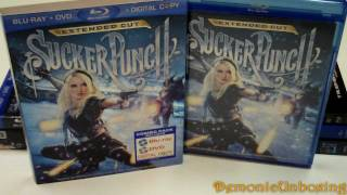 Sucker Punch blu-ray Unboxing