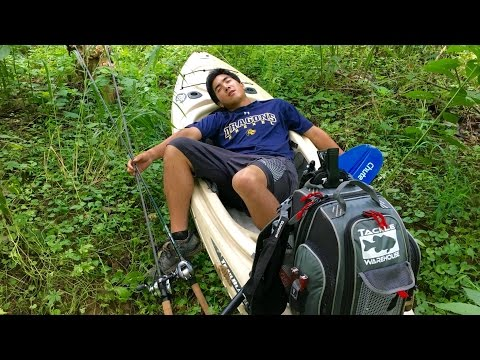 Kayak Fishing Adventure... Is this What it Means to be an Outdoorsman?