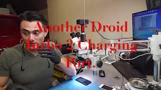 Motorola Droid Turbo 2 charging port repair. (Another 1)