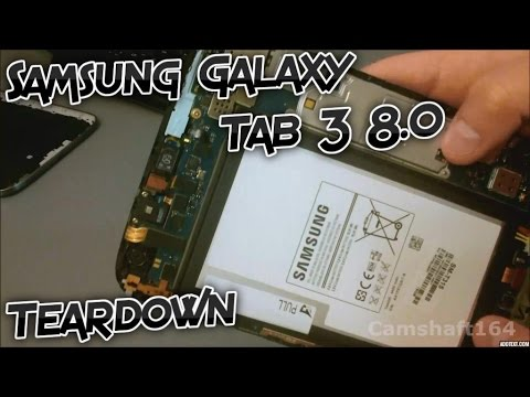Samsung Galaxy Tab 3 8.0 Teardown Disassembly and Assembly [Tutorial]