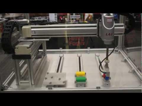 IAI SCARA Robot Pick And Play