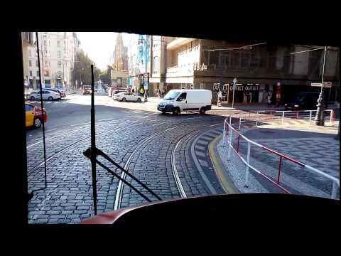 Prague tram line 17 (Vystaviste - Vyton)