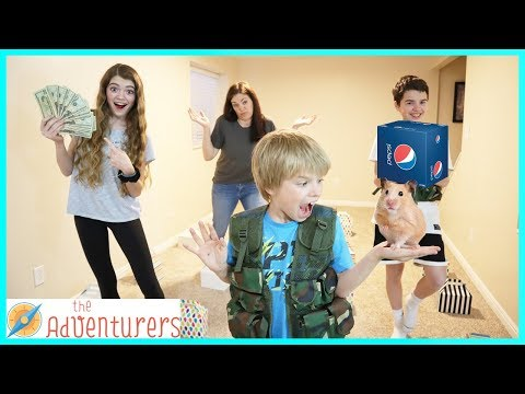 Family Fun Minefield Game With Temptations / That YouTub3 Family I The Adventurers