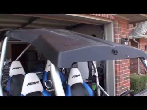 Polaris Rzr Poly Roof Install - EASY DIY