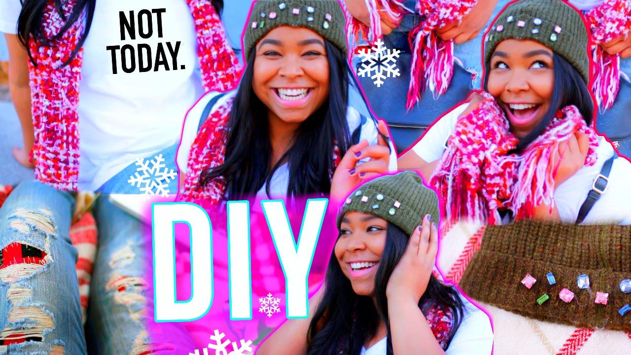 DIY Tumblr Clothes! Winter Inspired DIY Ideas! - YouTube
