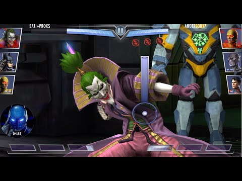 Injustice 3.2: Reverse Flash, Lord Joker, And Ninja Batman