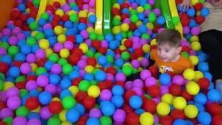 Indoor playground Family Fun Play Area for kids with Egor | Playground for kids