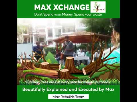 Spend Waste. Save Money - #Max Exchange.  #Recycling Redifined