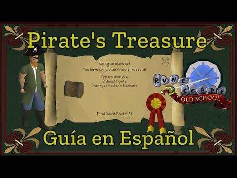 [OSRS] Pirate's Treasure Quest (Español)