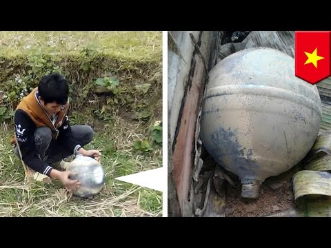Space balls: Mysterious objects fall from the sky and crash land in northern Vietnam - TomoNews