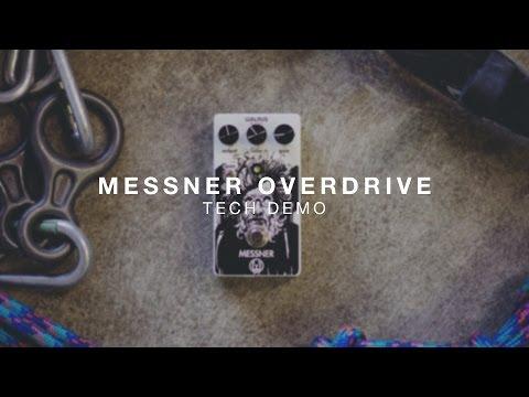 Walrus Audio Messner Overdrive Technical Demo