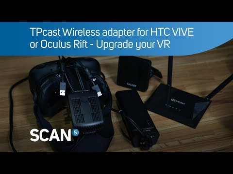 TPCAST HTC VIVE Wireless VR Adapter LN84236 - CE-01H | SCAN UK