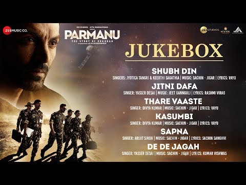 PARMANU:The Story Of Pokhran - Full Movie Audio Jukebox | John Abraham, Diana Penty & Boman Irani