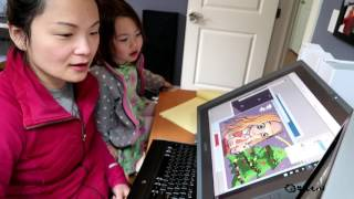 Drawing For My Children: The Little Match Girl 给孩子边画边讲:卖火柴的小女孩