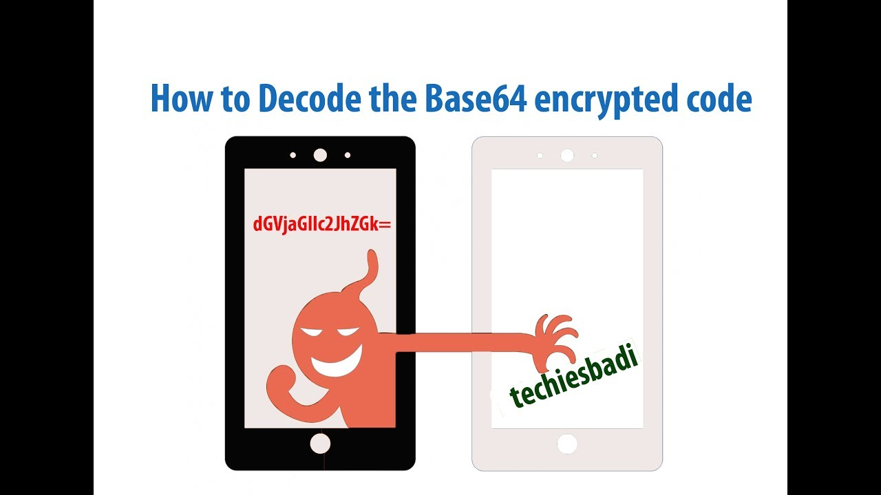 How to Decode the Base64 encrypted code