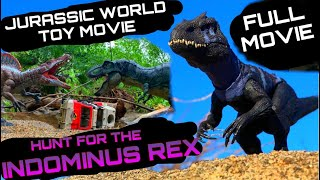 JURASSIC WORLD TOY MOVIE: HUNT FOR THE IDOMINUS REX ((FULL MOVIE))