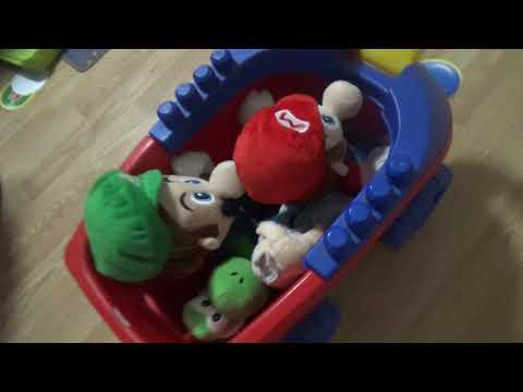 Mario Plush Bowser Party Play as Yoshi (2/2)