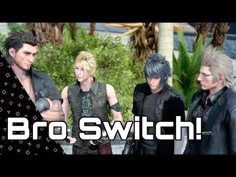 Final Fantasy 15! Play as ANY Bro in the main game! Bros Switch!