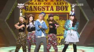 fx - 20110422 -Gangsta Boy, Pinocchio (Danger) on MB.avi