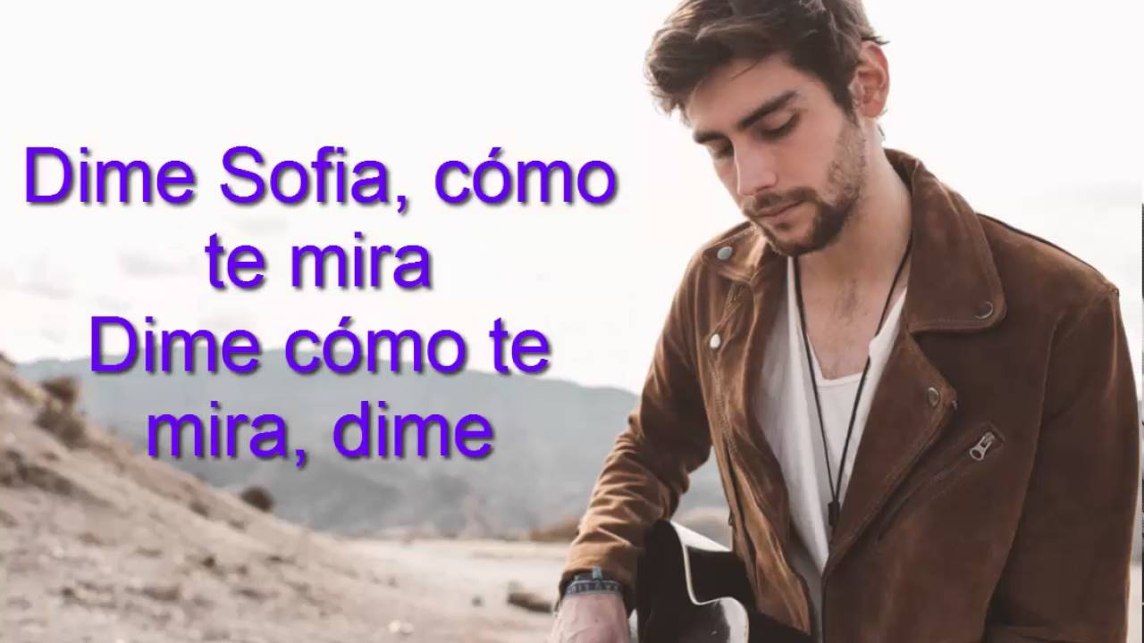 Alvaro Soler Sofia Free Lyrics Youtube