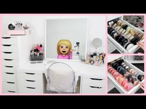 MAKEUP STORAGE & BEAUTY ROOM ORGANIZATION