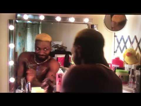 Anuvahood -Tyrone dancing in the mirror