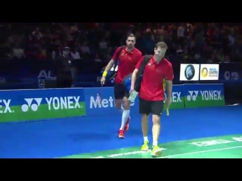 Yonex All England Open 2016 | Badminton F M5-MD | Iva/Soz vs Endo/Hay