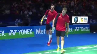Yonex All England Open 2016 | Badminton F M5-MD | Iva/Soz vs Endo/Hay thumbnail