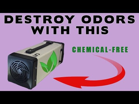 OZONE ODOR REMOVAL EQUIPMENT REVIEW