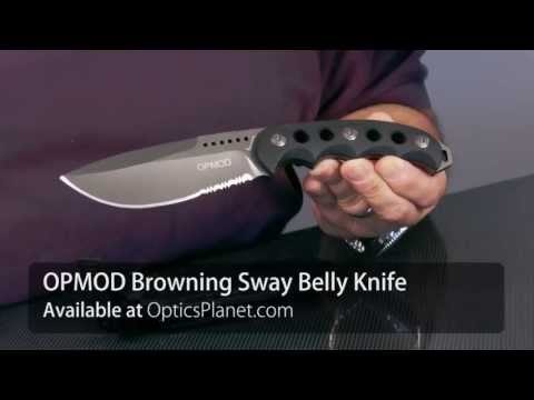OPMOD Browning Sway Belly Knife - OpticsPlanet.com Product In Focus
