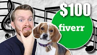 I Spent $100 on Fiverr to Make a Song for My Dog!!!